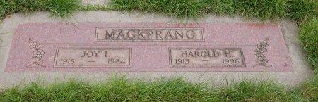 PAGET MACKPRANG, JOY IRENE - Yamhill County, Oregon | JOY IRENE PAGET MACKPRANG - Oregon Gravestone Photos