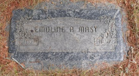 CAYO MAST, EMOLINE AGNES - Yamhill County, Oregon   EMOLINE AGNES CAYO MAST - Oregon Gravestone Photos