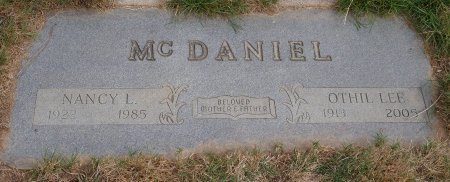 MCDANIEL, OTHIL LEE - Yamhill County, Oregon   OTHIL LEE MCDANIEL - Oregon Gravestone Photos