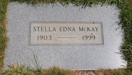 MCKAY, STELLA EDNA - Yamhill County, Oregon | STELLA EDNA MCKAY - Oregon Gravestone Photos