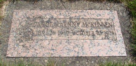 HAENNY MCKIBBEN, CAROL - Yamhill County, Oregon | CAROL HAENNY MCKIBBEN - Oregon Gravestone Photos