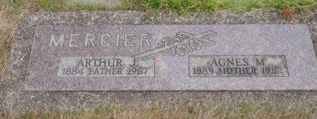 MERCIER, ARTHUR JOSEPH - Yamhill County, Oregon   ARTHUR JOSEPH MERCIER - Oregon Gravestone Photos