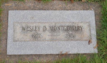 MONTGOMERY, WESLEY DEWITT - Yamhill County, Oregon   WESLEY DEWITT MONTGOMERY - Oregon Gravestone Photos