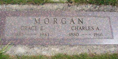 MORGAN, GRACE ELNORA - Yamhill County, Oregon | GRACE ELNORA MORGAN - Oregon Gravestone Photos