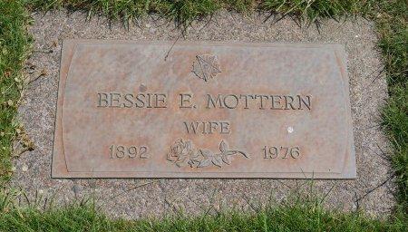 MOTTERN, BESSIE E - Yamhill County, Oregon | BESSIE E MOTTERN - Oregon Gravestone Photos