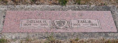MULFORD, EARL RAY - Yamhill County, Oregon   EARL RAY MULFORD - Oregon Gravestone Photos