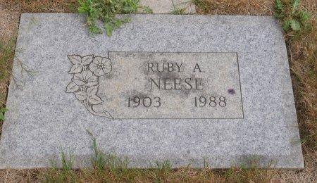 NEESE, RUBY A - Yamhill County, Oregon   RUBY A NEESE - Oregon Gravestone Photos