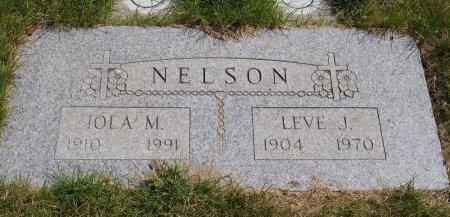 NELSON, LEVE J - Yamhill County, Oregon | LEVE J NELSON - Oregon Gravestone Photos