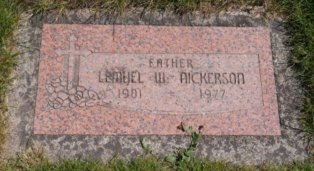 NICKERSON, LEMUEL WOOSTER - Yamhill County, Oregon | LEMUEL WOOSTER NICKERSON - Oregon Gravestone Photos