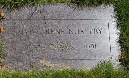 EDWARDS NOKLEBY, MYRA IRENE - Yamhill County, Oregon | MYRA IRENE EDWARDS NOKLEBY - Oregon Gravestone Photos
