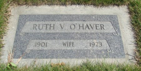 BIRCHFIELD O'HAVER, RUTH VIRGINIA - Yamhill County, Oregon | RUTH VIRGINIA BIRCHFIELD O'HAVER - Oregon Gravestone Photos