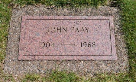 PAAY, JOHN - Yamhill County, Oregon | JOHN PAAY - Oregon Gravestone Photos