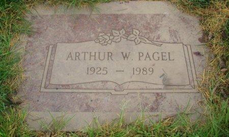 PAGEL, ARTHUR WILHELM - Yamhill County, Oregon | ARTHUR WILHELM PAGEL - Oregon Gravestone Photos