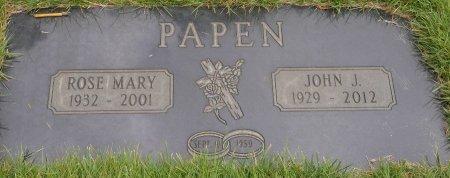 PAPEN, JOHN J - Yamhill County, Oregon | JOHN J PAPEN - Oregon Gravestone Photos