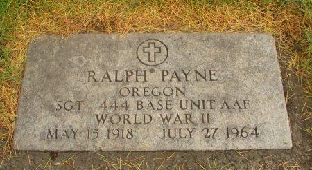 PAYNE, RALPH - Yamhill County, Oregon   RALPH PAYNE - Oregon Gravestone Photos