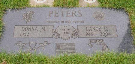 PETERS, DONNA M - Yamhill County, Oregon | DONNA M PETERS - Oregon Gravestone Photos