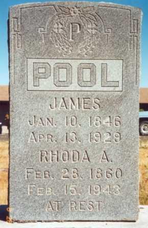 POOL, RHODA ANN - Yamhill County, Oregon | RHODA ANN POOL - Oregon Gravestone Photos