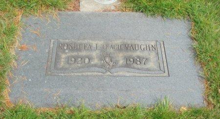 LEACH VAUGHN, ROSETTA I - Yamhill County, Oregon | ROSETTA I LEACH VAUGHN - Oregon Gravestone Photos