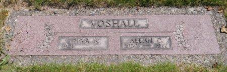 VOSHALL, ALLAN C - Yamhill County, Oregon   ALLAN C VOSHALL - Oregon Gravestone Photos