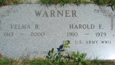 WARMER, HAROLD FREDERICK - Yamhill County, Oregon   HAROLD FREDERICK WARMER - Oregon Gravestone Photos