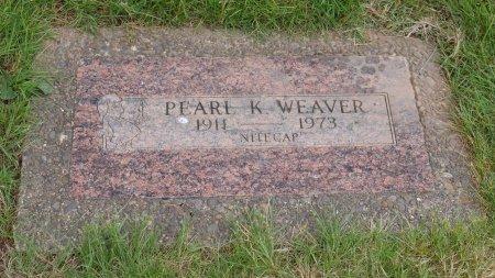 WEAVER, PEARL K - Yamhill County, Oregon | PEARL K WEAVER - Oregon Gravestone Photos
