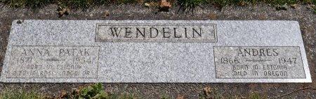WENDELIN, ANDRES - Yamhill County, Oregon | ANDRES WENDELIN - Oregon Gravestone Photos