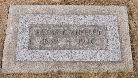 WHEELER, EDGAR F - Yamhill County, Oregon   EDGAR F WHEELER - Oregon Gravestone Photos
