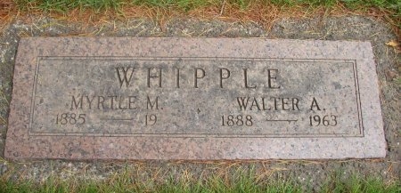 WHIPPLE, MYRTLE MARGARET - Yamhill County, Oregon | MYRTLE MARGARET WHIPPLE - Oregon Gravestone Photos