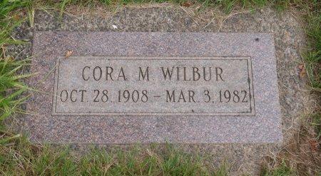 WILBUR, CORA MAE - Yamhill County, Oregon   CORA MAE WILBUR - Oregon Gravestone Photos