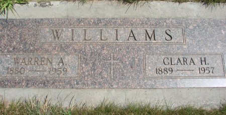 WILLIAMS, WARREN ALMER - Yamhill County, Oregon   WARREN ALMER WILLIAMS - Oregon Gravestone Photos
