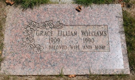 SODERQUIST WILLIAMS, GRACE LILLIAN - Yamhill County, Oregon | GRACE LILLIAN SODERQUIST WILLIAMS - Oregon Gravestone Photos