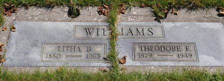 AKINS WILLIAMS, LITHA BEATRICE - Yamhill County, Oregon | LITHA BEATRICE AKINS WILLIAMS - Oregon Gravestone Photos