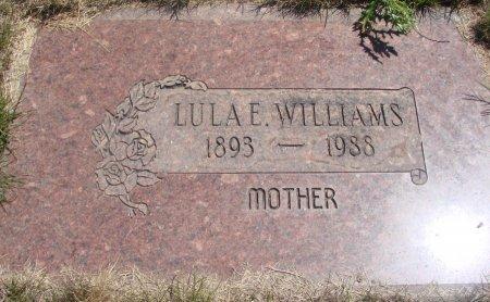 WILLIAMS, LULA ETHEL - Yamhill County, Oregon   LULA ETHEL WILLIAMS - Oregon Gravestone Photos