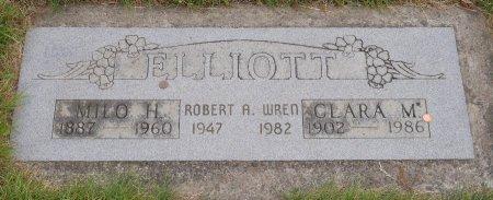 ELLIOTT, CLARA MAY - Yamhill County, Oregon | CLARA MAY ELLIOTT - Oregon Gravestone Photos