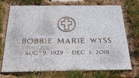 WYSS, BOBBIE MARIE - Yamhill County, Oregon | BOBBIE MARIE WYSS - Oregon Gravestone Photos