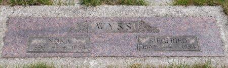 WYSS, NONA - Yamhill County, Oregon | NONA WYSS - Oregon Gravestone Photos
