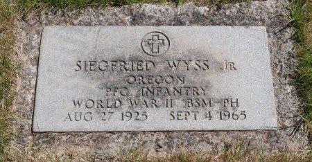 WYSS, SIEGFRIED JR - Yamhill County, Oregon | SIEGFRIED JR WYSS - Oregon Gravestone Photos