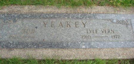 YEAKEY, LYLE VERN - Yamhill County, Oregon   LYLE VERN YEAKEY - Oregon Gravestone Photos