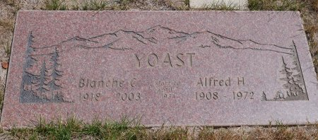 AVERY YOUST, BLANCHE C - Yamhill County, Oregon | BLANCHE C AVERY YOUST - Oregon Gravestone Photos