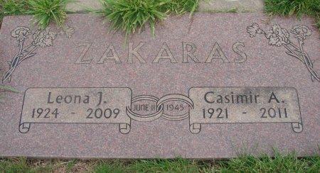 ZAKARAS, LEONA JEAN - Yamhill County, Oregon   LEONA JEAN ZAKARAS - Oregon Gravestone Photos