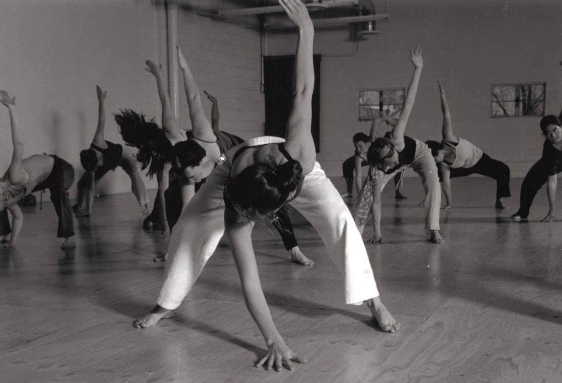 Dance Class Practicing