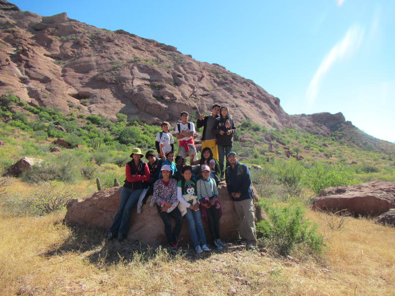 Desert Ecology Field Trip - Photo by Kino Bay Center