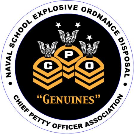 NAVSCOLEOD Chief Petty Officer Association logo