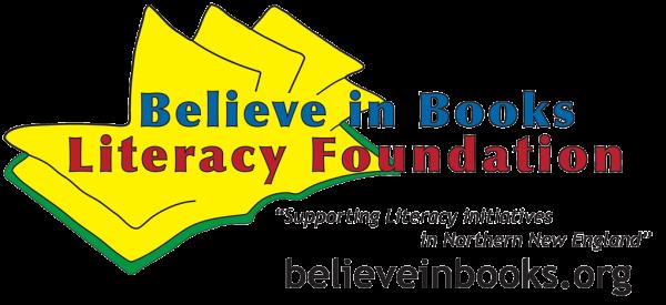 Believe in Books Literacy Foundation logo