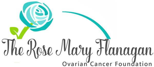 The Rose Mary Flanagan Ovarian Cancer Foundation logo