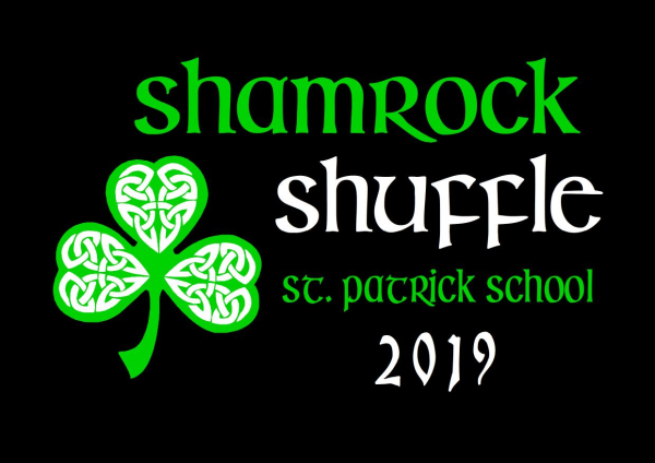 St. Patrick School Shamrock Shuffle logo