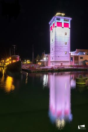 Door County Maritime Museum Lighthouse Tower logo
