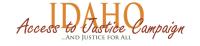 Access to Justice Idaho  logo