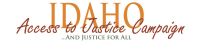 Access to Justice Idaho  logo