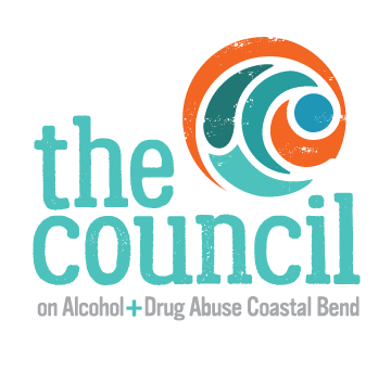 The Council on Alcohol + Drug Abuse Coastal Bend logo